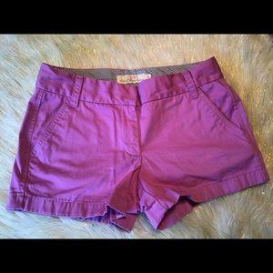 *J Crew* chino broke in shorts size 4